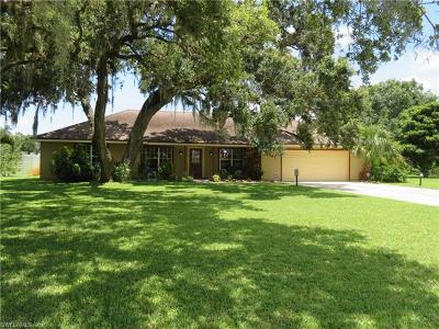 Labelle FL Single Family Home For Sale: $222,500