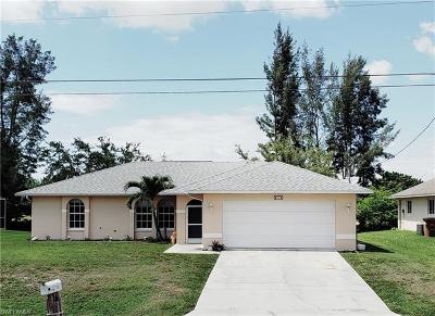 Cape Coral Single Family Home For Sale: 215 SE 16th St