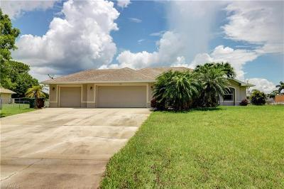 Cape Coral Single Family Home For Sale: 1231 NW 18th Ter