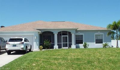 Cape Coral Single Family Home For Sale: 604 NW 18th Ave