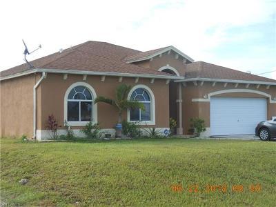 Lehigh Acres Single Family Home For Sale: 721 Euston Ave S