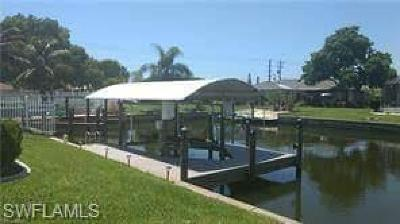 Cape Coral, Matlacha, North Fort Myers Single Family Home For Sale: 109 SE 42nd Ter