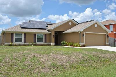 Cape Coral Single Family Home For Sale: 319 NE 23rd Ter