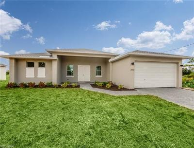 Cape Coral FL Single Family Home For Sale: $252,900