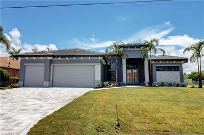 Cape Coral FL Single Family Home For Sale: $599,900