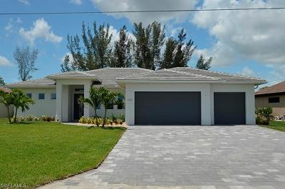 Cape Coral FL Single Family Home For Sale: $499,900