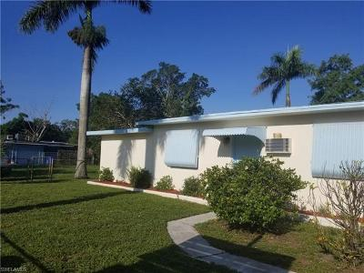 Fort Myers Single Family Home For Sale: 2816 Meadow Ave