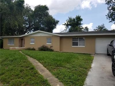 Fort Myers FL Single Family Home For Sale: $197,000