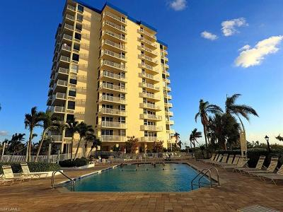 Fort Myers Beach Condo/Townhouse For Sale: 7360 Estero Blvd #904