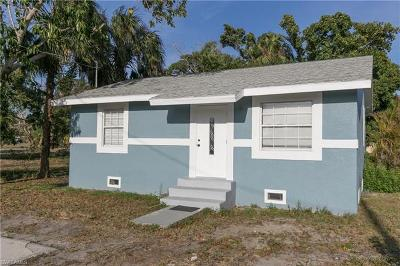 Fort Myers Single Family Home For Sale: 2241 Henderson Ave