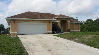 Lehigh Acres Single Family Home For Sale: 3413 32nd St SW