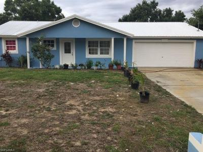 Lehigh Acres Single Family Home For Sale: 1401 E 6th St