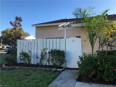 Cape Coral Condo/Townhouse For Sale: 5020 SW Courtyards Way #12
