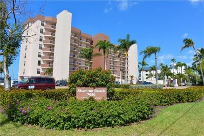 Fort Myers Beach Condo/Townhouse For Sale: 7650 Estero Blvd #707