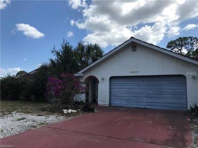 North Port Single Family Home For Sale: 5341 Appomattox Dr
