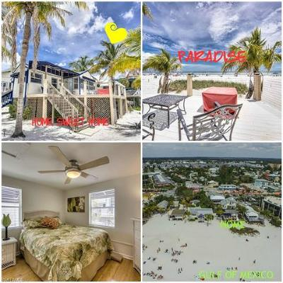 Fort Myers Beach Single Family Home For Sale: 42 Avenue E