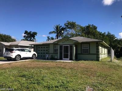 Fort Myers Single Family Home For Sale: 2109 French St