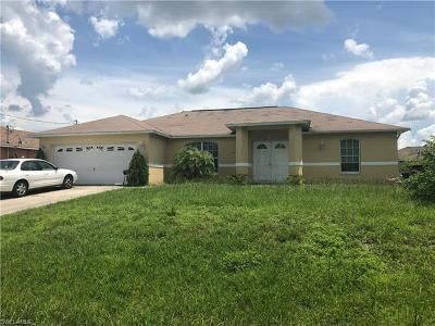 Lehigh Acres Single Family Home For Sale: 4103 14th St W