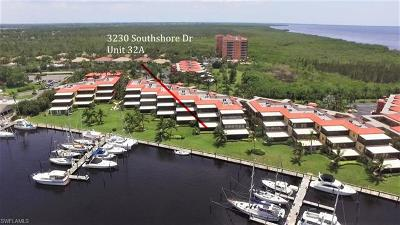 Burnt Store Marina Condo/Townhouse For Sale: 3230 Southshore Dr #32A