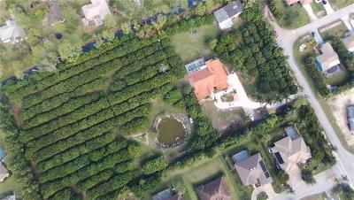 Bonita Springs Residential Lots & Land For Sale: 24530 Paradise Rd
