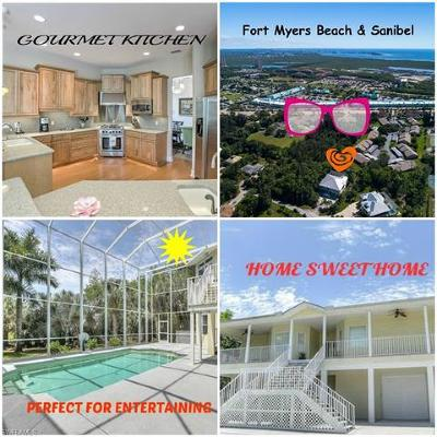 Fort Myers Single Family Home For Sale: 13411 Electron Dr