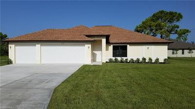 Cape Coral FL Single Family Home For Sale: $278,000