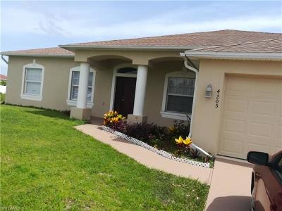 Lehigh Acres Single Family Home For Sale: 4205 29th St SW