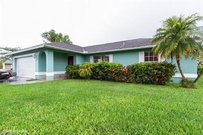 Naples FL Single Family Home For Sale: $320,000