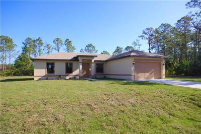 Lehigh Acres Single Family Home For Sale: 5218 Baron St