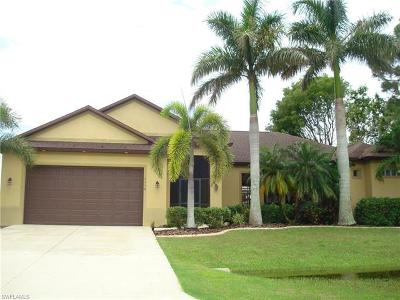 Cape Coral Single Family Home For Sale: 1110 SW 46th Ter