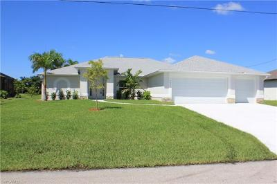 Cape Coral Single Family Home For Sale: 3004 SW 22nd Pl