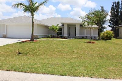 Cape Coral Single Family Home For Sale: 3311 SW 27th Pl
