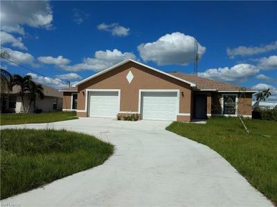 Cape Coral Multi Family Home For Sale: 1431/1433 SE 10th Ter