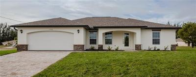 Cape Coral Single Family Home For Sale: 1713 NW Juanita Pl