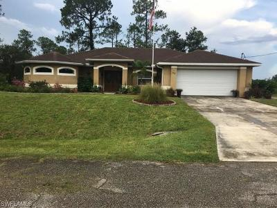Lehigh Acres Single Family Home For Sale: 100 W 15th St