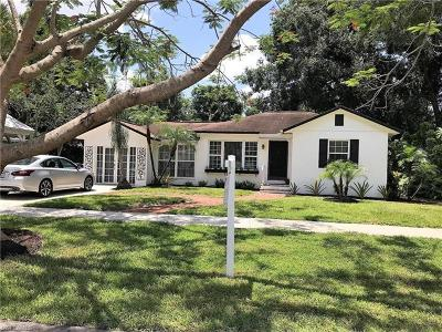Fort Myers Single Family Home For Sale: 1338 Alcazar Ave