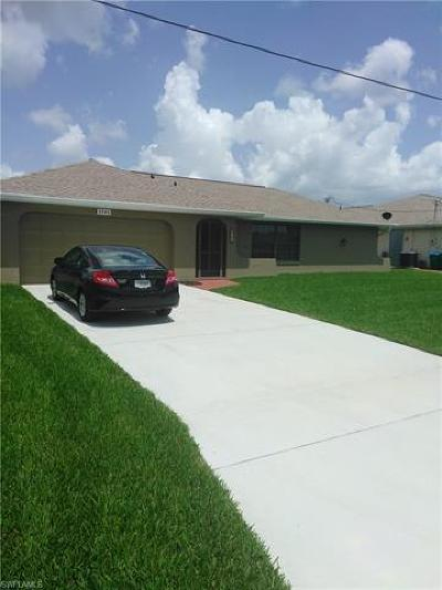 Cape Coral FL Single Family Home For Sale: $379,900