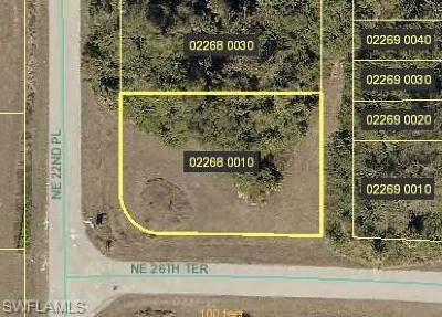 Cape Coral Residential Lots & Land For Sale: 2615 NE 22nd Pl