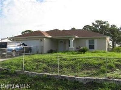 Lehigh Acres FL Single Family Home For Sale: $194,500