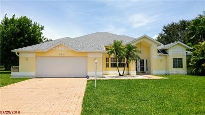 Lehigh Acres Single Family Home For Sale: 530 Whispering Wind Bend