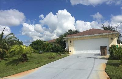 Lehigh Acres Single Family Home For Sale: 2506 29th St SW