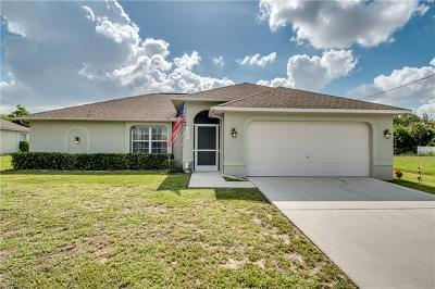 Cape Coral Single Family Home For Sale: 1103 SW 18th Ave