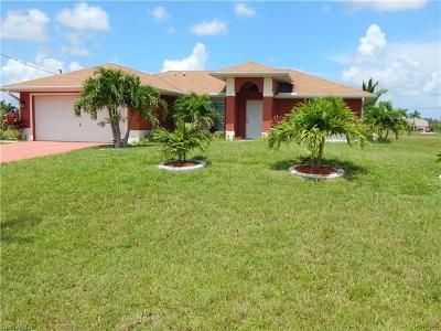 Cape Coral Single Family Home For Sale: 1020 NW 36th Pl