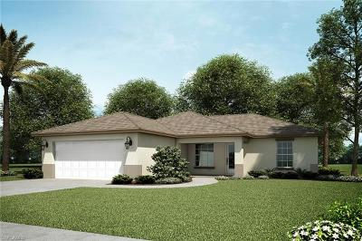 Cape Coral Single Family Home For Sale: 2112 NW 24th Ter