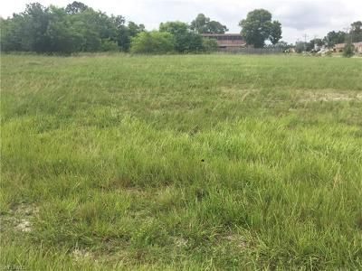 Charlotte County, Collier County, Desoto County, Glades County, Hendry County, Lee County, Sarasota County Residential Lots & Land For Sale: 2221 SW 19th Ter