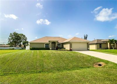 Cape Coral Single Family Home For Sale: 1310 SW 6th Ter
