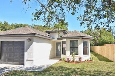 Fort Myers Single Family Home For Sale: 2922 McCann St
