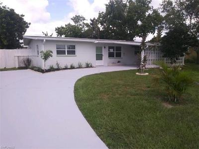 North Fort Myers Single Family Home For Sale: 836 Hydrangea Dr