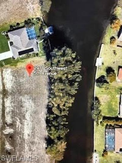 Lee County Residential Lots & Land For Sale: 2911 SW 5th Ave
