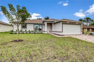 Bonita Springs Single Family Home For Sale: 27081 Jackson Ave